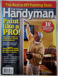 Family Handyman DIY Painting Issue choosed Accubrush as top pick